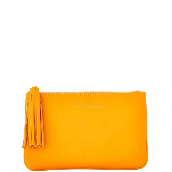 Dooney & Bourke Lambskin Carrington Pouch (Introduced by Dooney & Bourke at $88 in Aug 2016)