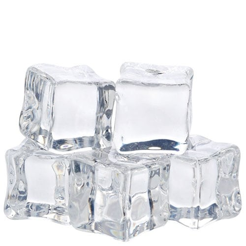 Department 56 Christmas Basics Ice Cube, 1.5 inch (Set of 6)