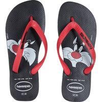 Havaianas Women's Looney Tunes Sandal Black/Red - 41/42 br (11/12 m us)