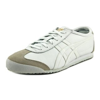 Onitsuka Tiger by Asics Mexico 66 Men Round Toe Leather White Sneakers