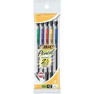 Bic Corporation 5Pk .7Mm Pencil MPP51BLK Unit: PKG Contains 12 per case