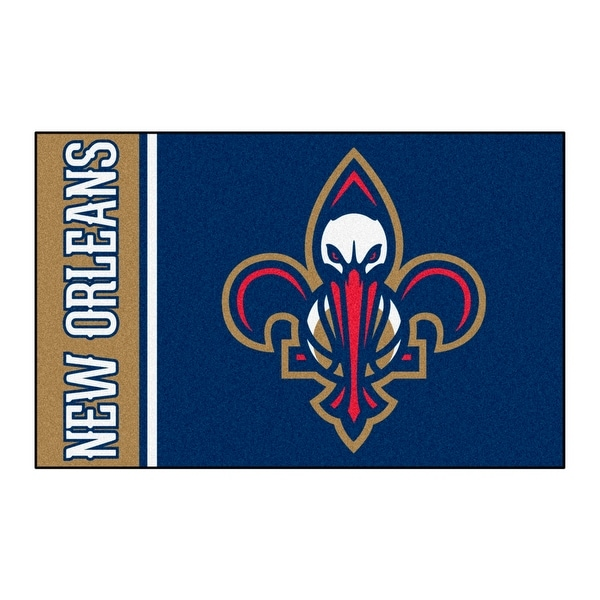 Shop NBA New Orleans Pelicans Starter Mat Rectangular Area Rug - Free  Shipping On Orders Over  45 - Overstock.com - 22623912 994fb2e3d