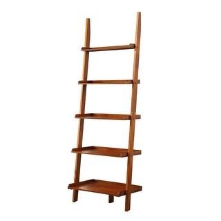 Link to Copper Grove Helena Ladder Bookshelf Similar Items in Office Storage & Organization