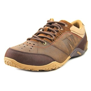 Merrell Wraith Fire Round Toe Leather Running Shoe