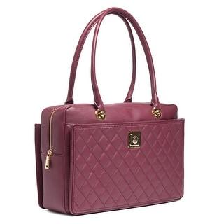 Moschino JC4108 0653 Prune Satchel/Work Bag