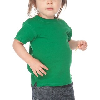 Kavio! Unisex Infants Scoop Neck Short Sleeve Top
