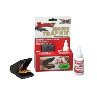 Tomcat 33905 Mouse Gel & Snap Trap Combo Kit