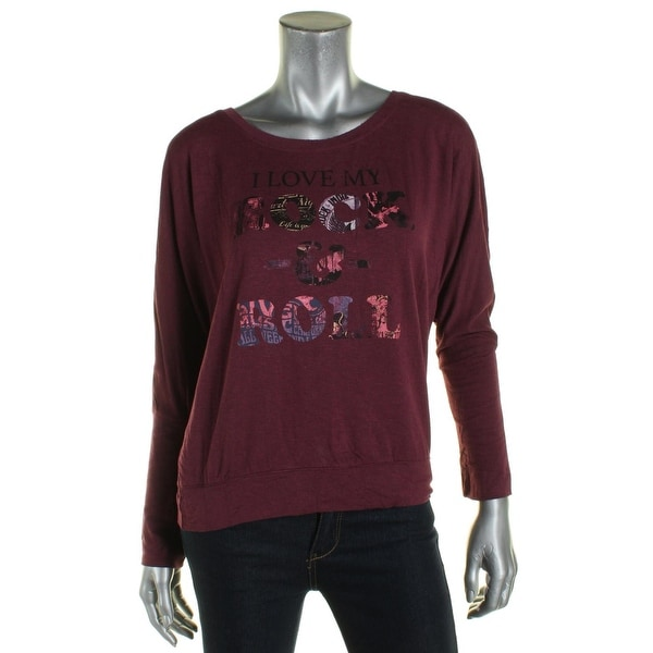 5bdfdda053c4a Shop William Rast Womens Casual Top Printed Dolman Sleeve - Free Shipping  On Orders Over  45 - Overstock.com - 19451732