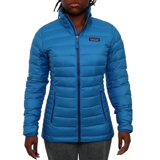 Patagonia Women Women's Down Sweater Puffer Andes Blue