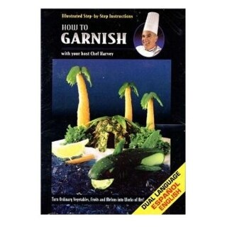 Chef Harvey 4504 How To Garnish DVD