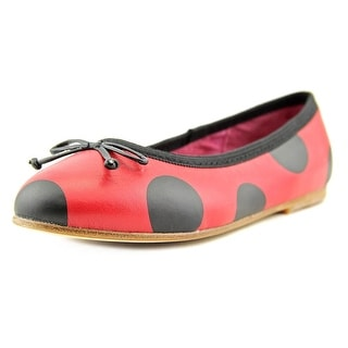 L'amour Polka Youth Round Toe Leather Mary Janes