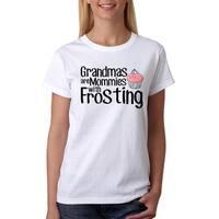 Grandmas Are Mommies Women's White T-shirt