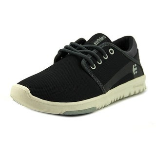 Etnies Scout Youth  Round Toe Synthetic Black Skate Shoe