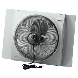 Air King 9166 20 Inch 3560 CFM Whole House Window Mounted Fan with Storm Guard Housing from the Window Fans Collection