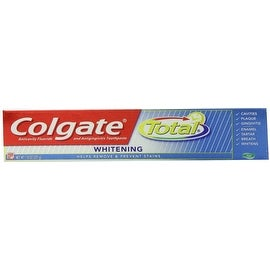 Colgate Total Whitening Gel Toothpaste 7.8 oz