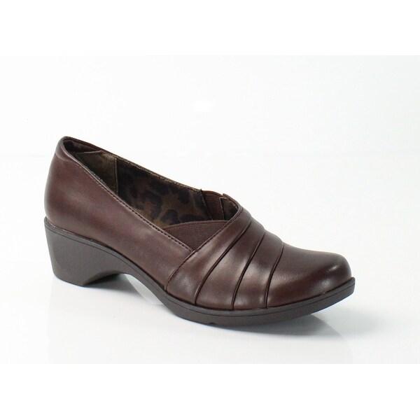 Soft Style NEW Dark Brown Kambra Size 7M Stretch Slip On Shoes