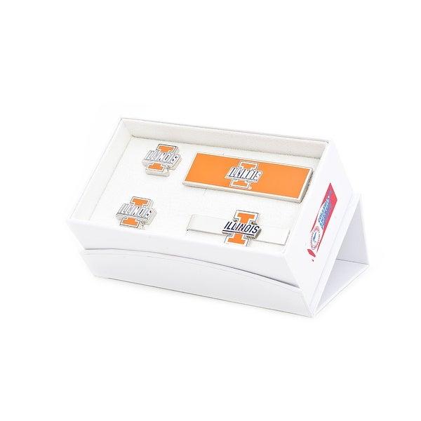 University of Illinois Fighting Illini 3-Piece Gift Set - Orange