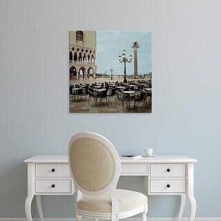 Easy Art Prints Alan Blaustein's 'Piazza San Marco #4' Premium Canvas Art