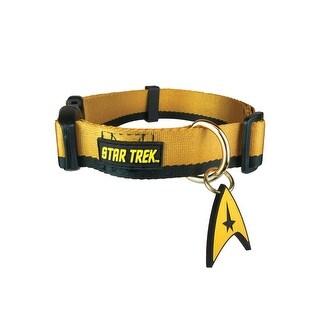 Star Trek Uniform Gold Pet Collar
