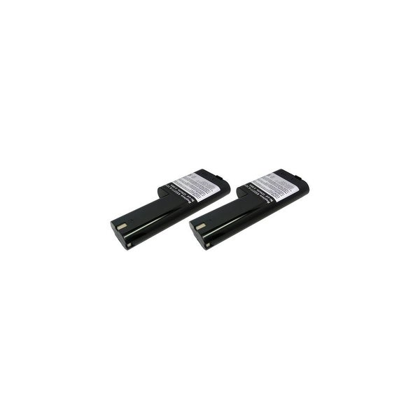 Replacement for Makita 1210 2000mAh Power Tool Battery (2 Pack)