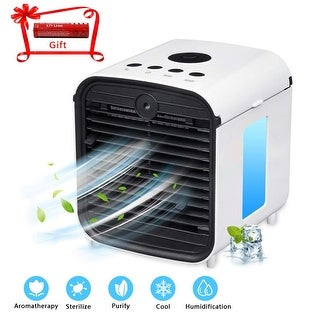 Air Conditioner Fan Mini Fan Evapolar Humidifier Portable 3 Gear Speed - N/A