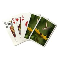 Hummingbird - Lantern Press Photography (Poker Playing Cards Deck)