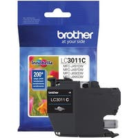Brother int l (supplies) lc3011c lc3011c standard cyan ink