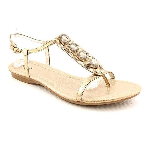 Alfani Yana Womens Open Toe Faux Leather Slingback Sandals Shoes