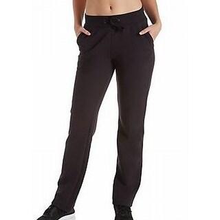 Champion NEW Black Womens Size XL Drawstring Casual Pants Stretch