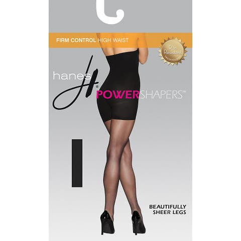 Hanes Women's Firm Control High Waist Power Shapers