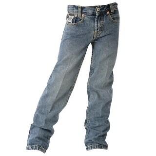 Cinch Western Denim Jeans Boys White Label Indigo MB12882001|https://ak1.ostkcdn.com/images/products/is/images/direct/ae7e20c5f25839616f939e42165578ab2b165ecc/Cinch-Western-Denim-Jeans-Boys-White-Label-Indigo-MB12882001.jpg?_ostk_perf_=percv&impolicy=medium
