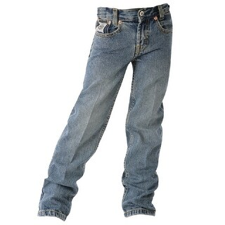 Cinch Western Denim Jeans Boys White Label Indigo