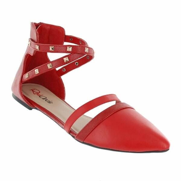Red Circle Footwear 'Lana' Pointed Toe Flat