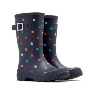 Kids Joules Girls navtspt Mid-Calf Slip On Rain Boots