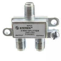 Offex F-pin Coaxial Splitter, 2 Way