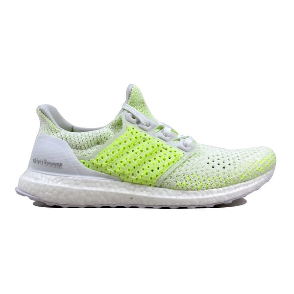d35d12b2a Adidas Men  x27 s UltraBoost Clima White Solar Yellow Shock Yellow AQ0481