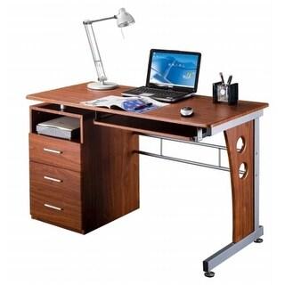 Techni Mobili RTA-3520-M615 Computer Desk with Storage - Mahogany
