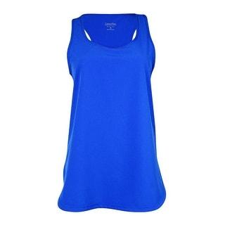 Calvin Klein Women's Performance Sleeveless Top (XS, Radiant Blue)