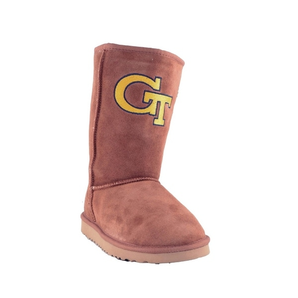 Gameday Boots Womens Georgia Tech Roadie Hickory GT-RL1059-1