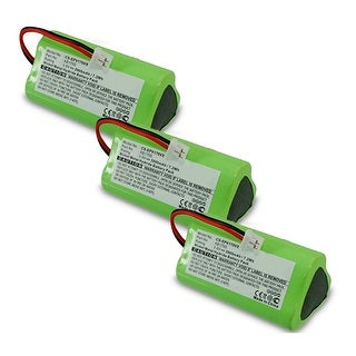 Replacement Battery for Shark EPV170VX / XB1705 Battery Models (3 Pack)