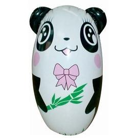 Inflatable Tumbler Toy Children   girl panda