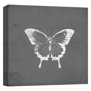 "PTM Images 9-124647  PTM Canvas Collection 12"" x 12"" - ""The Pale King"" Giclee Butterflies Art Print on Canvas"