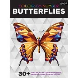 Shop Color By Number Butterflies Walter Foster Creative Books