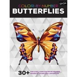 Color By Number - Butterflies - Walter Foster Creative Books