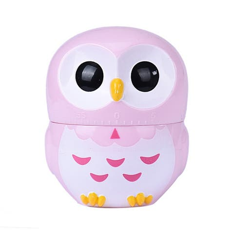 Owl Timer Kitchen 60 Minute Cooking Mechanical Home Decoration New