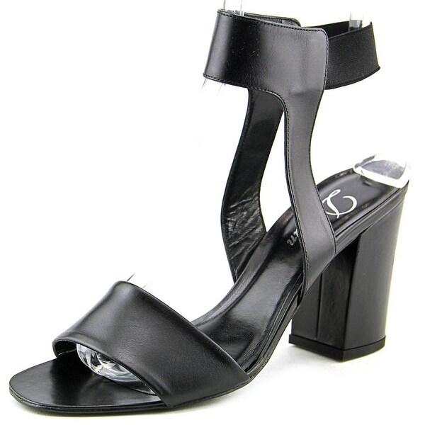 Delman Abbie Women Open Toe Leather Sandals