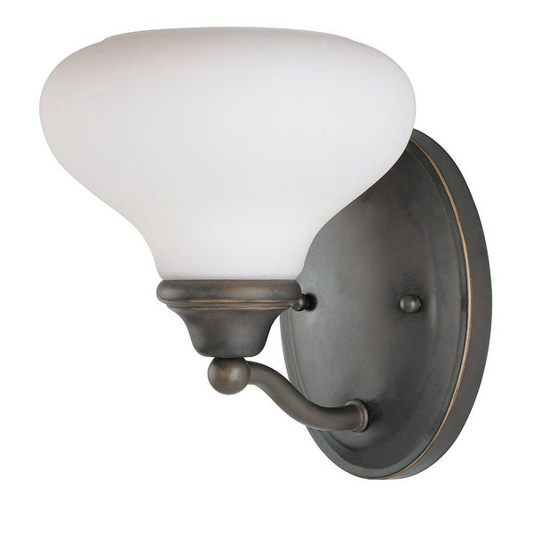 Westinghouse 66577 Up Lighting Wall Sconce From The Walnut Ridge Collection Burnished Bronze Patina N A Free Shipping Today