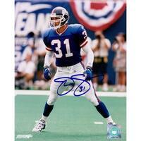 Signed Sehorn Jason New York Giants 8x10 Photo autographed