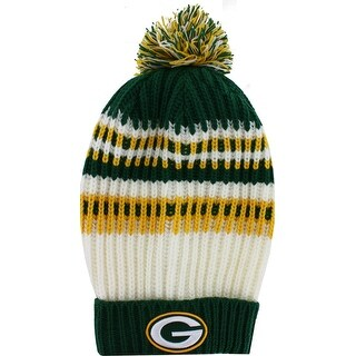 Green Bay Packers Wintry Banded Women's Knit Hat