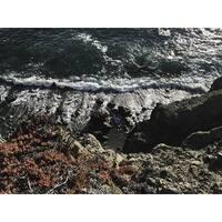 Coastal Cliff Photograph Art Print